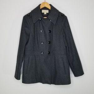 Michael Michael Kors wool blend pea coat